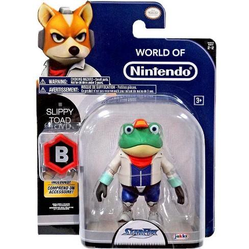 World of Nintendo Starfox Slippy Toad Action Figure - image 1 of 4