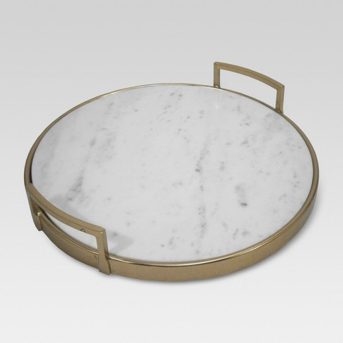 Gold and Marble Tray - Project 62™ - image 1 of 2