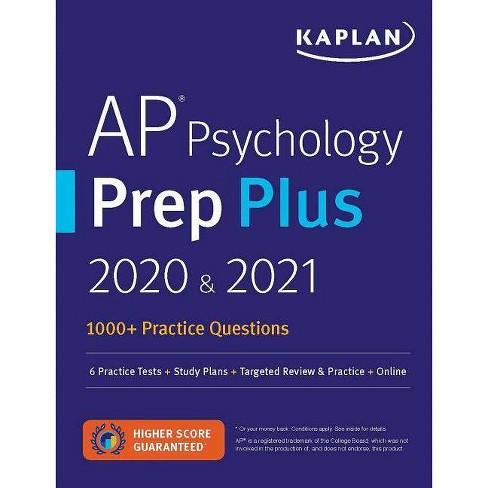 AP Psychology Prep Plus 2020 & 2021 - (Kaplan Test Prep) (Paperback) - image 1 of 1