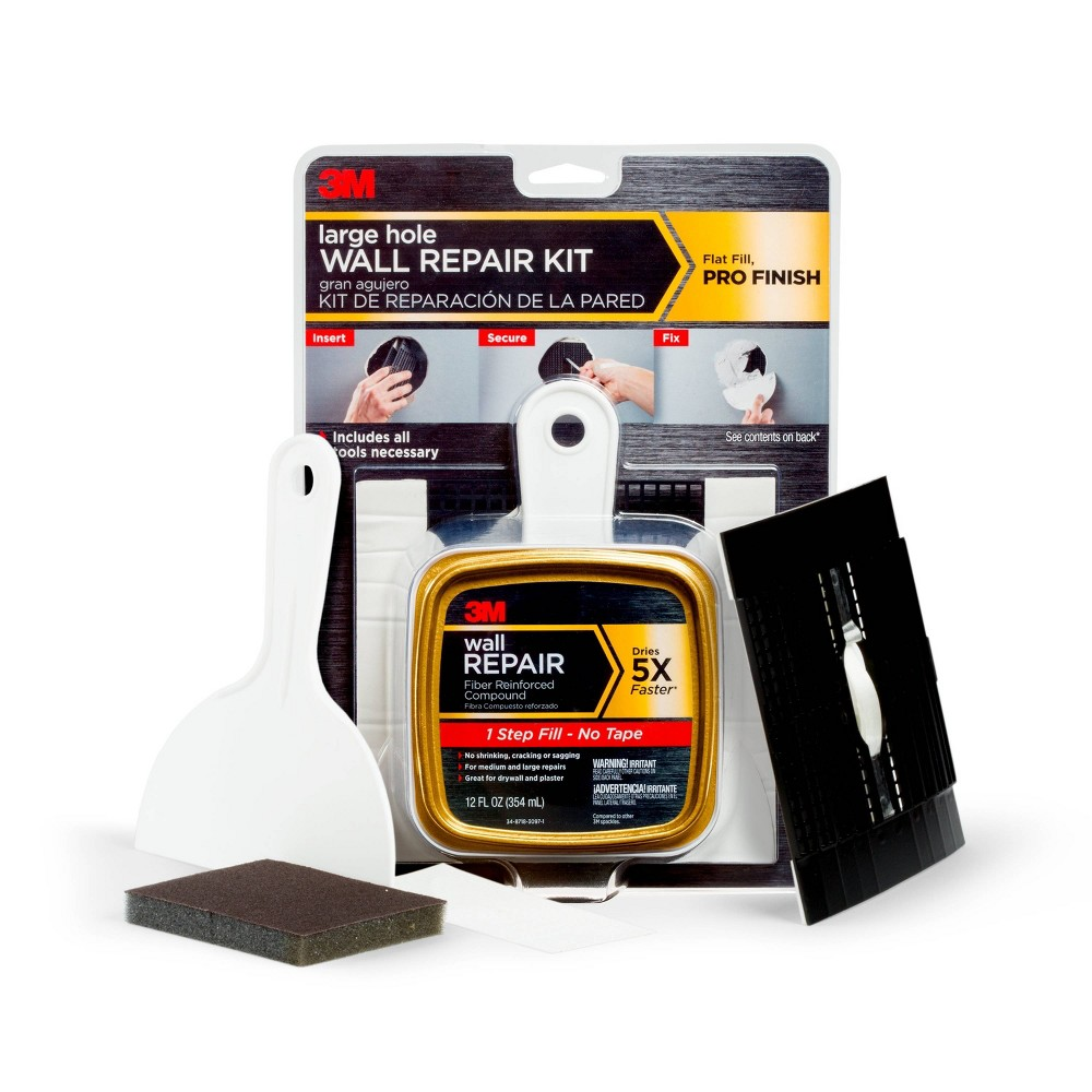 3M Wall Repair Patch Kit White