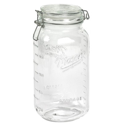 Mason Craft & More 3L Clamp Jars