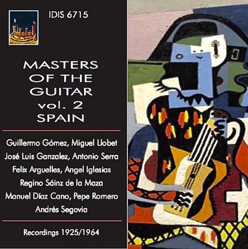 Various - Master Of The Guitar:Vol 2 Spain (CD) - image 1 of 1