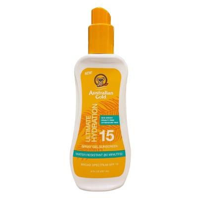 Australian Gold Sunscreen Spray Gel - SPF 15 - 8 fl oz