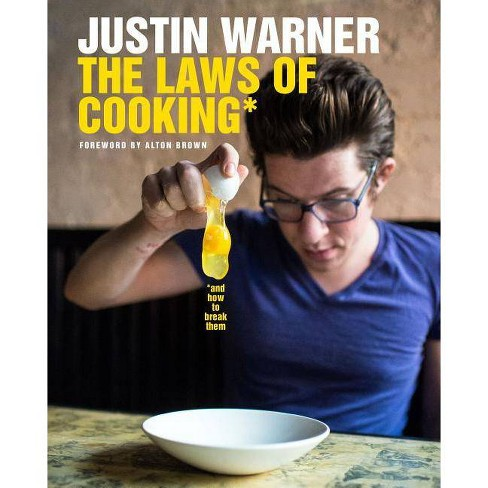 The Laws of Cooking - by  Justin Warner (Hardcover) - image 1 of 1