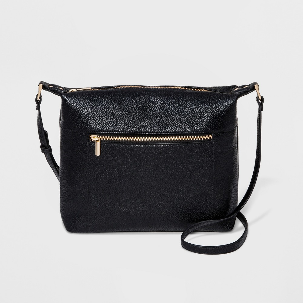 Soft Crossbody Bag - A New Day Black, Women's, Size: Small