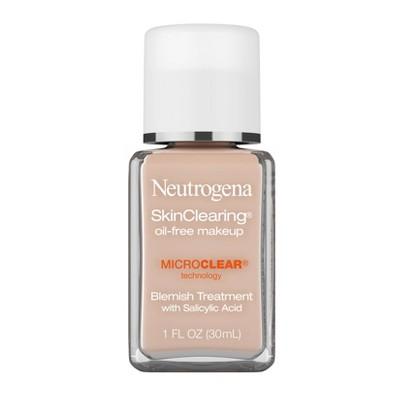 Neutrogena Skin Clearing Oil-Free Liquid Foundation with Salicylic Acid - 1 fl oz