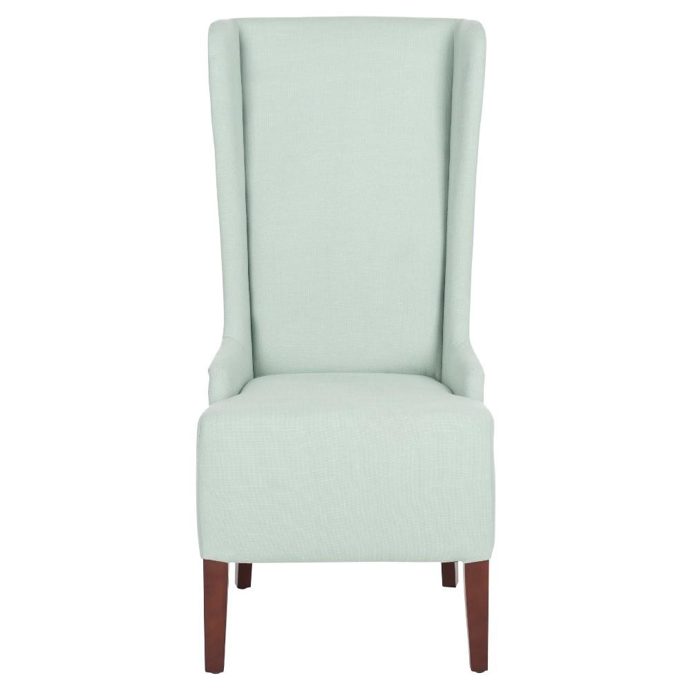 Becall Dining Chair Wood/Seafoam Green - Safavieh, Sea Green