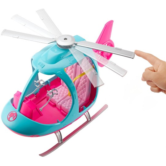 Barbie Travel Helicopter, toy vehicle playsets image number null