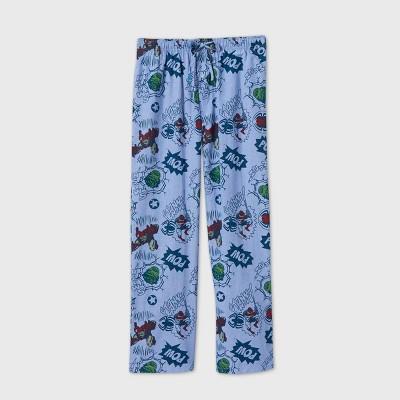 Men's Marvel Avengers Pajama Pants - Turquoise