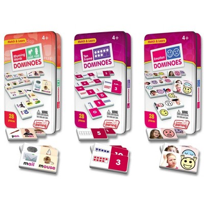 Junior Learning: Learning Dominoes - Set of 3