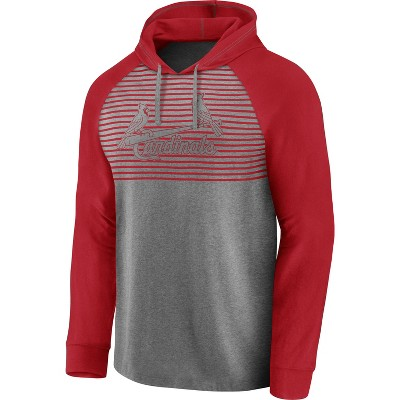 MLB St. Louis Cardinals Men's Lightweight Bi-blend Hoodie