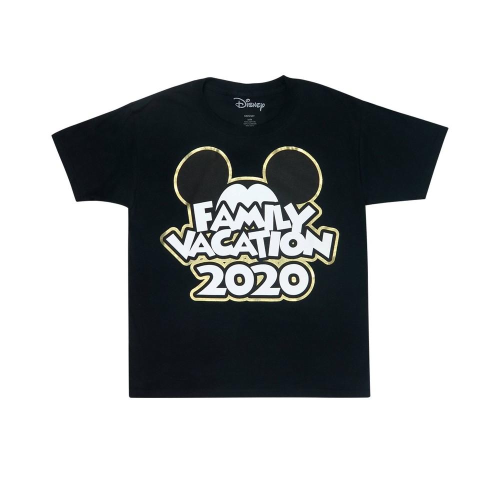Toddler Mickey 34 Family Vacation 2020 34 T Shirt Disney Black 2t