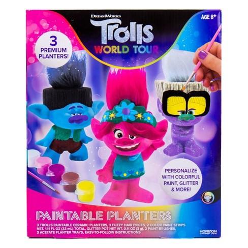 Trolls World Tour Paintable Planters - image 1 of 4