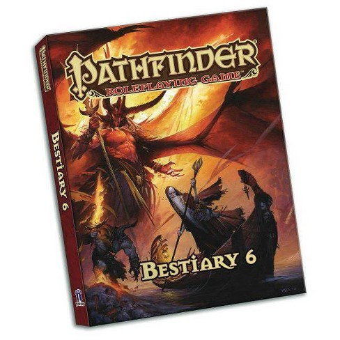 Pathfinder Roleplaying Game: Bestiary 6 Pocket Edition - by  Jason Bulmahn (Paperback) - image 1 of 1