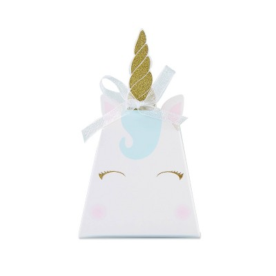 Set Of 24 Unicorn Favor Box