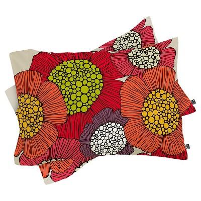 Valentina Ramos Selene Pillow Sham Standard Pink - Deny Designs