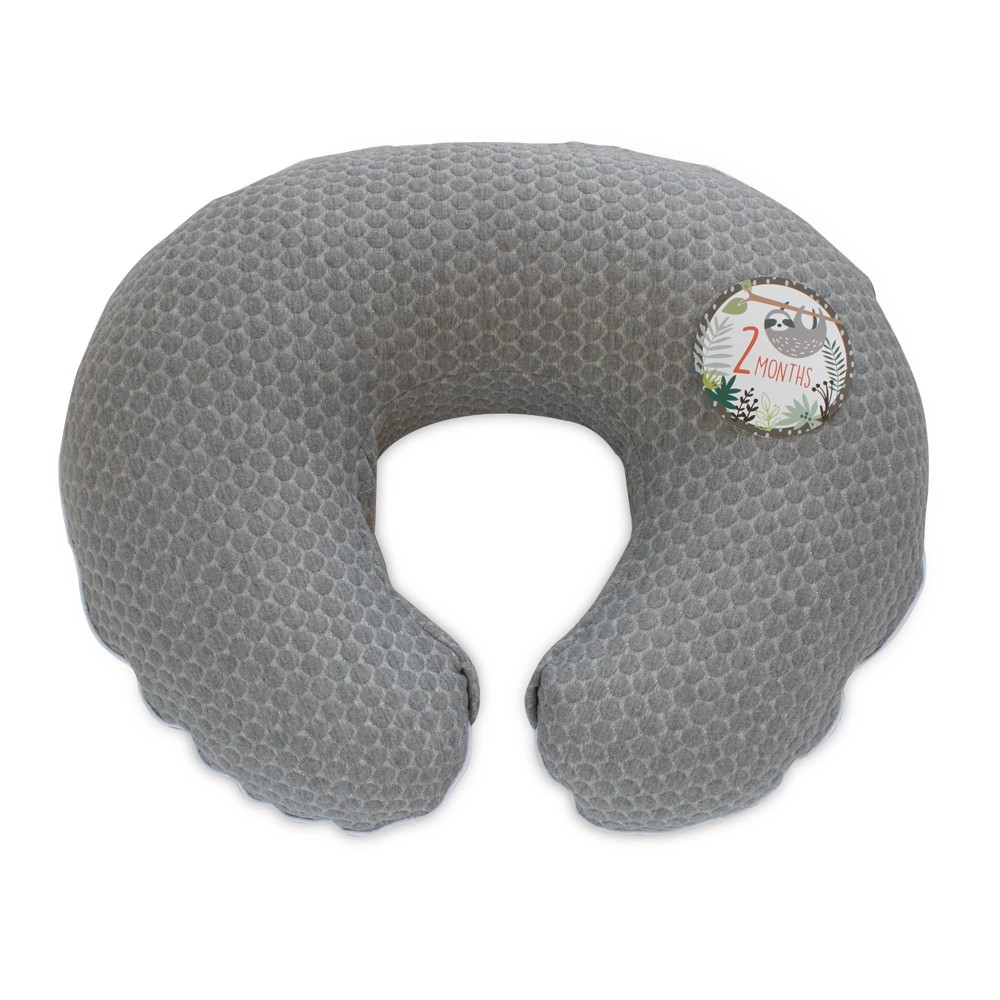 Image of Boppy Preferred Milestone Nursing Slipcover - Gray