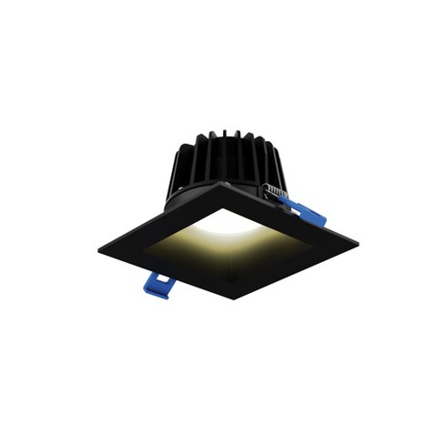 """DALS Lighting RGR4SQ-3K Smooth Baffle 4"""" LED Square Recessed Fixture - 3000K & 990 Lumens - image 1 of 1"""