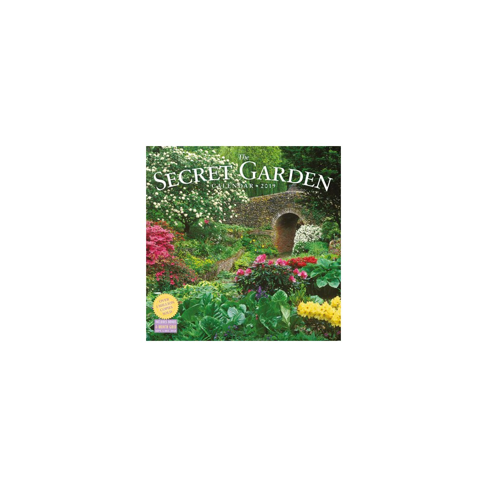 Secret Garden 2019 Calendar - (Paperback)
