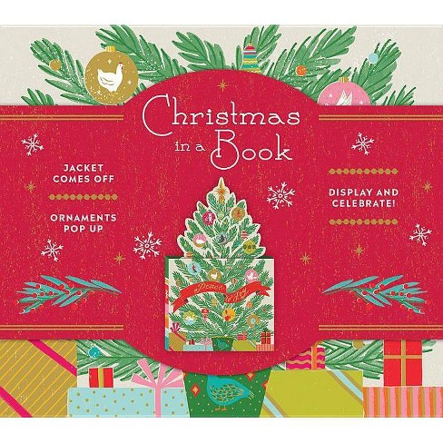 Christmas in a Book (Uplifting Editions) - by  Noterie (Hardcover) - image 1 of 1