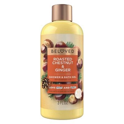 Beloved Roasted Chestnuts & Ginger Mini Shower Gels - 3 fl oz