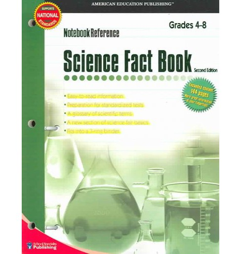 Science Fact Book : Grades 4 - 8 (Paperback) - image 1 of 1