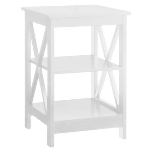 Oxford End Table White - Breighton Home - image 1 of 4
