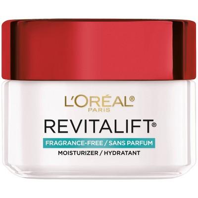 L'Oreal Paris Revitalift Fragrance Free Anti-Wrinkle + Firming Moisturizer - 1.7oz
