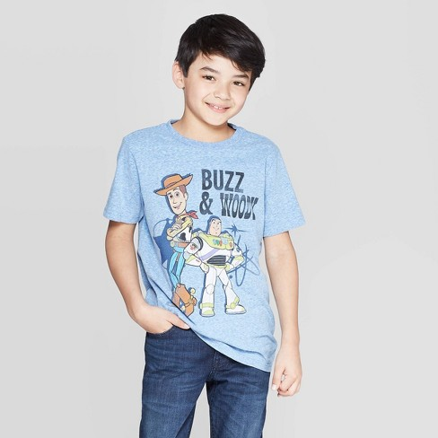 TOY STORY 4  T-SHIRT  BUZZ /& WOODY  SIZE  5T  NEW  NICE LOOK