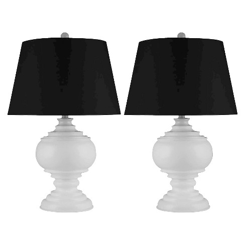 Abbyson Living Alexis Table Lamp (Set of 2) - White - image 1 of 3