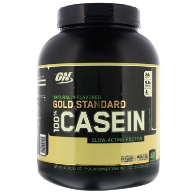 Optimum Nutrition Gold Standard 100% Casein, Protein Powder, Naturally Flavored