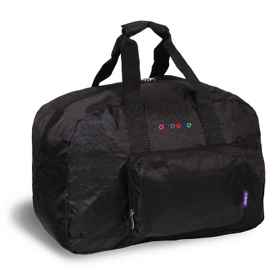 J World Buena Folding Duffel Bag - Black
