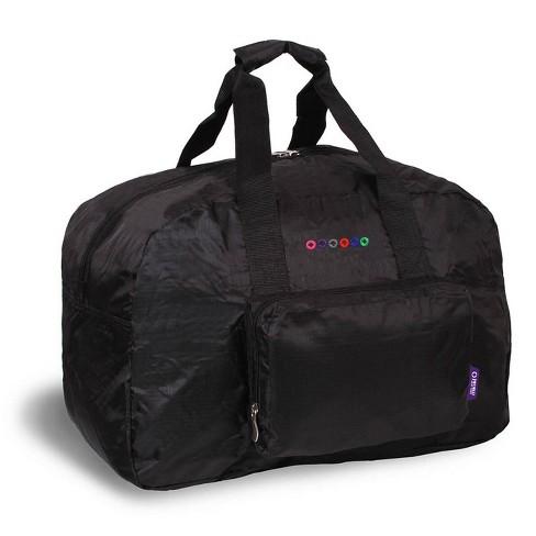 J World Buena Folding Duffel Bag - Black - image 1 of 4