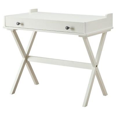 Linnea Flip Top Desk Antique White – Carolina Cottage