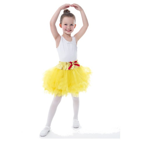Little Adventures Princess Tiara Tutu- Yellow Beauty - image 1 of 2