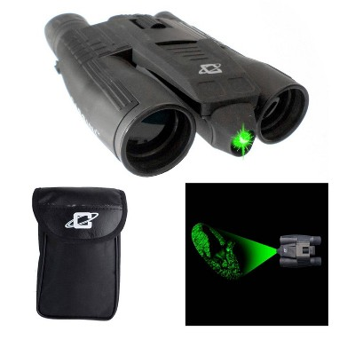 Cassini K-9MKIII 12x32mm Day/Night Green Laser Binoculars - Black