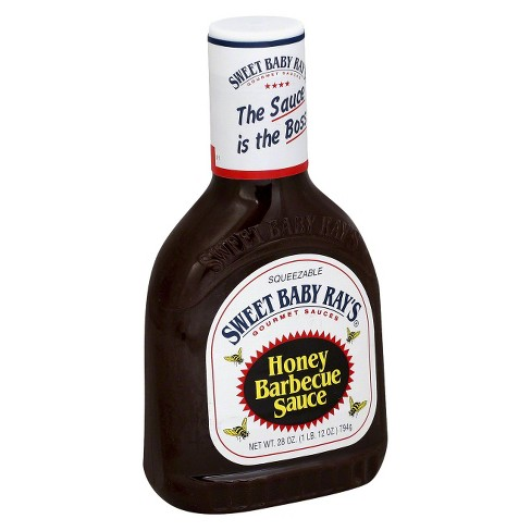 Sweet Baby Ray S Honey Barbecue Sauce 28oz Target