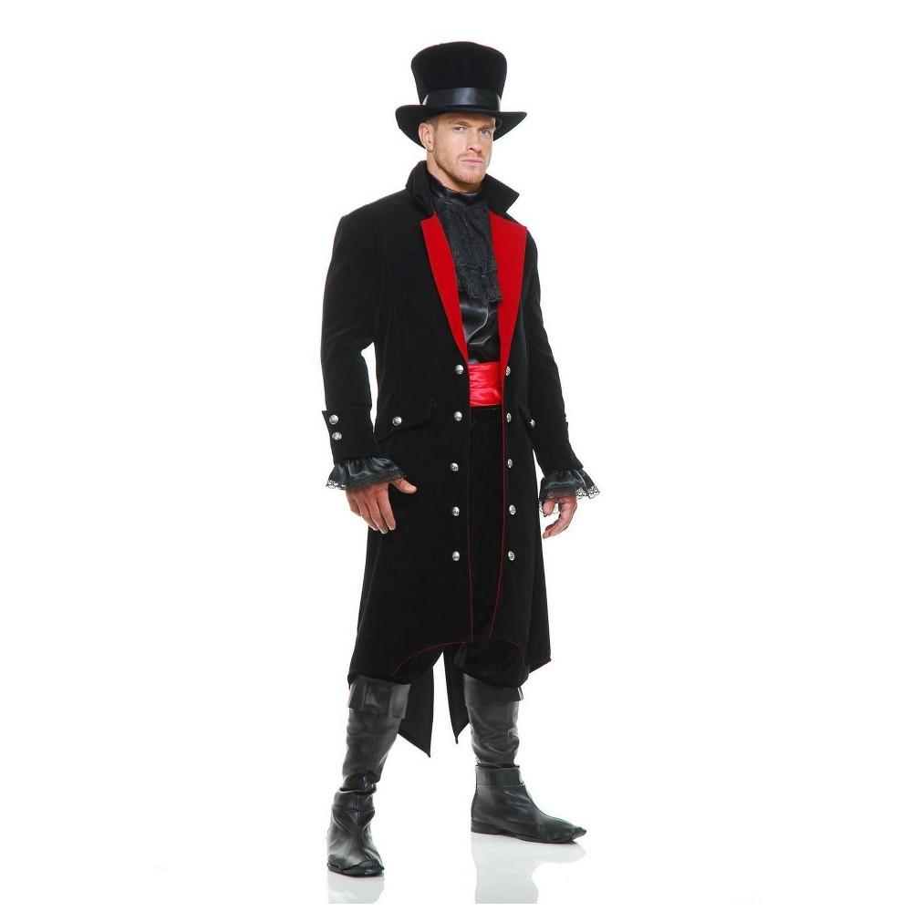 Image of Halloween Men's Midnight Vampire Halloween Costume L, Men's, Size: Large, MultiColored