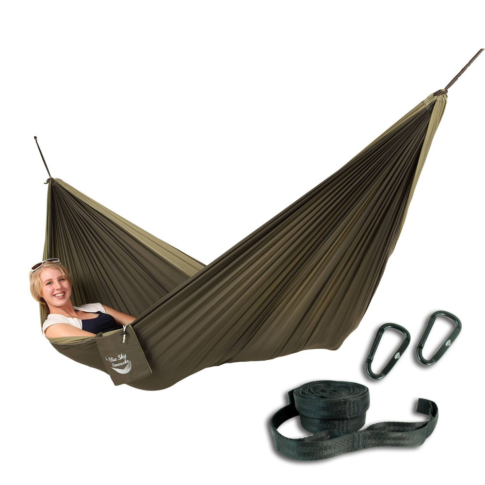 Image of Blue Sky Couple's Double Hammock