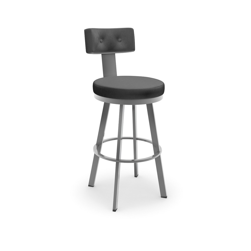 26.25 Amisco Tower Counter Stool Black