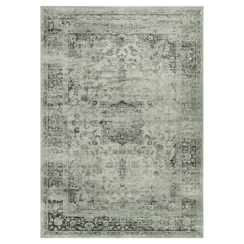 Simon Vintage Area Rug - Green (4'x5'7) - Safavieh