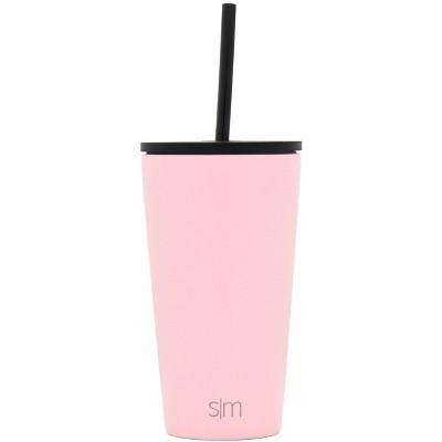 Simple Modern 16oz Classic with Straw Lid Blush