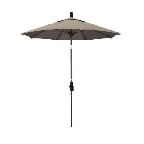 7.5' Patio Umbrella in Taupe - California Umbrella - image 1 of 1