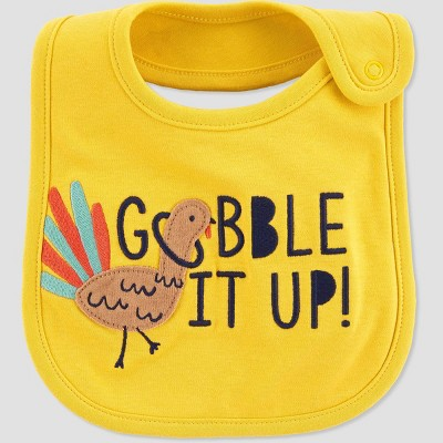 Baby Thanksgiving Bib - Just One You® made by carter's Yellow