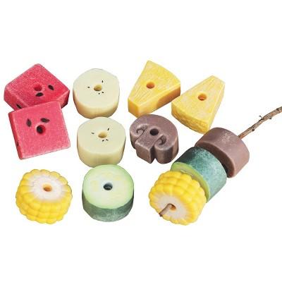 Yellow Door Sensory Play Stones: Threading Kebabs - Set of 12