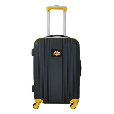 "NBA 21"" Hardcase Two-Tone Spinner Carry On Suitcase"