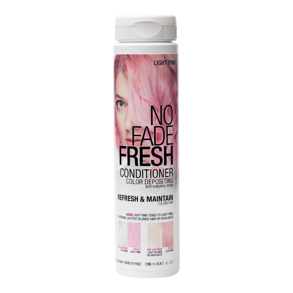 Image of No Fade Fresh Color Depositing Conditioner with BondHeal Repair - Light Pink