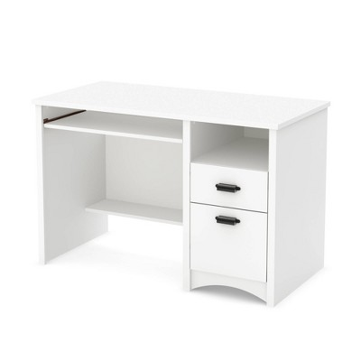 Gascony Wood Computer Desk withDrawers- South Shore