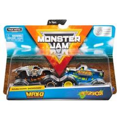 Monster Jam 1:64 - Max D vs Aftershock -2pk