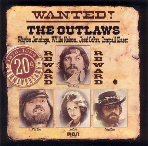 Jennings & nelson & colt - Outlaws (CD) - image 1 of 1